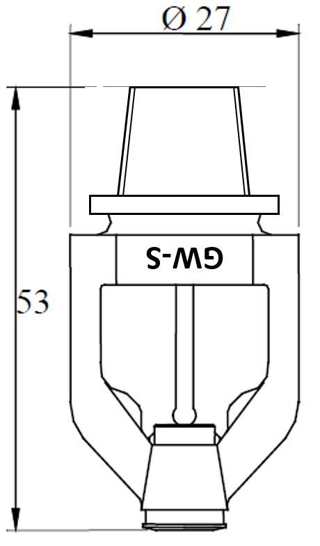 10mm GW-S Detector, K57, QR