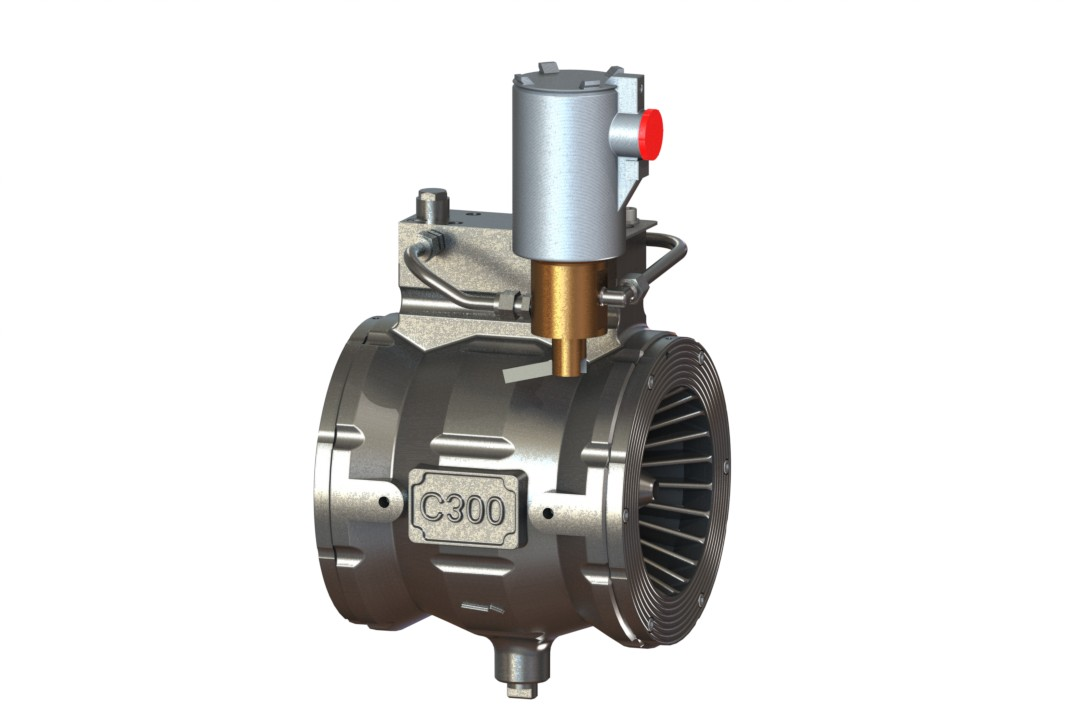 Automatic Water Control Valve, Non Regulating with Strainer & Restrictors + Solenoid (Latching)