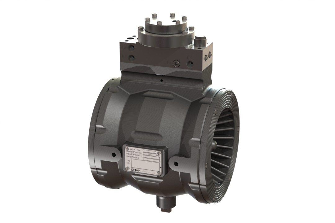 Automatic Water Control Valve, Non regulating with Strainer & Restrictors + Integral Pneumatic Actuator (latching)