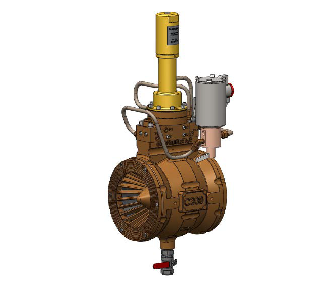 Automatic Water Control Valve, with Pressure Control + Solenoid
