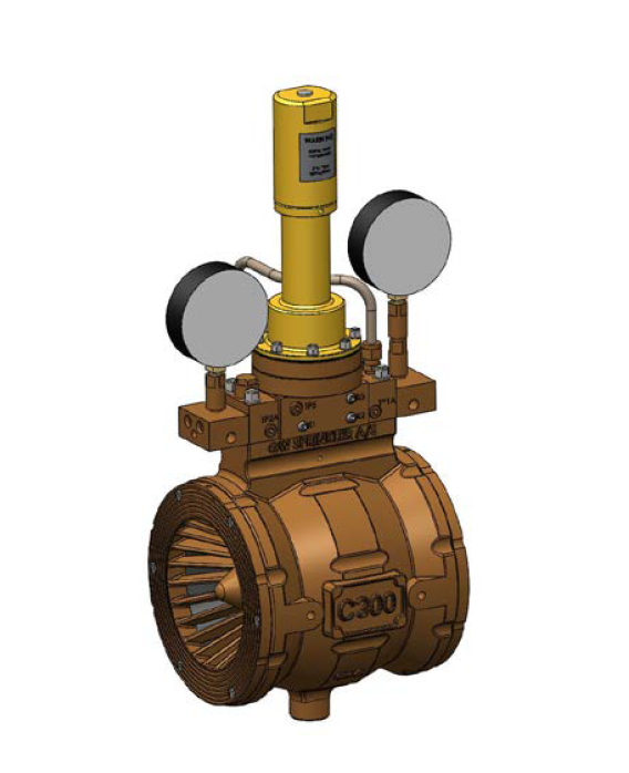 GW C300 Fluid Control Valve, Pressure Reducing