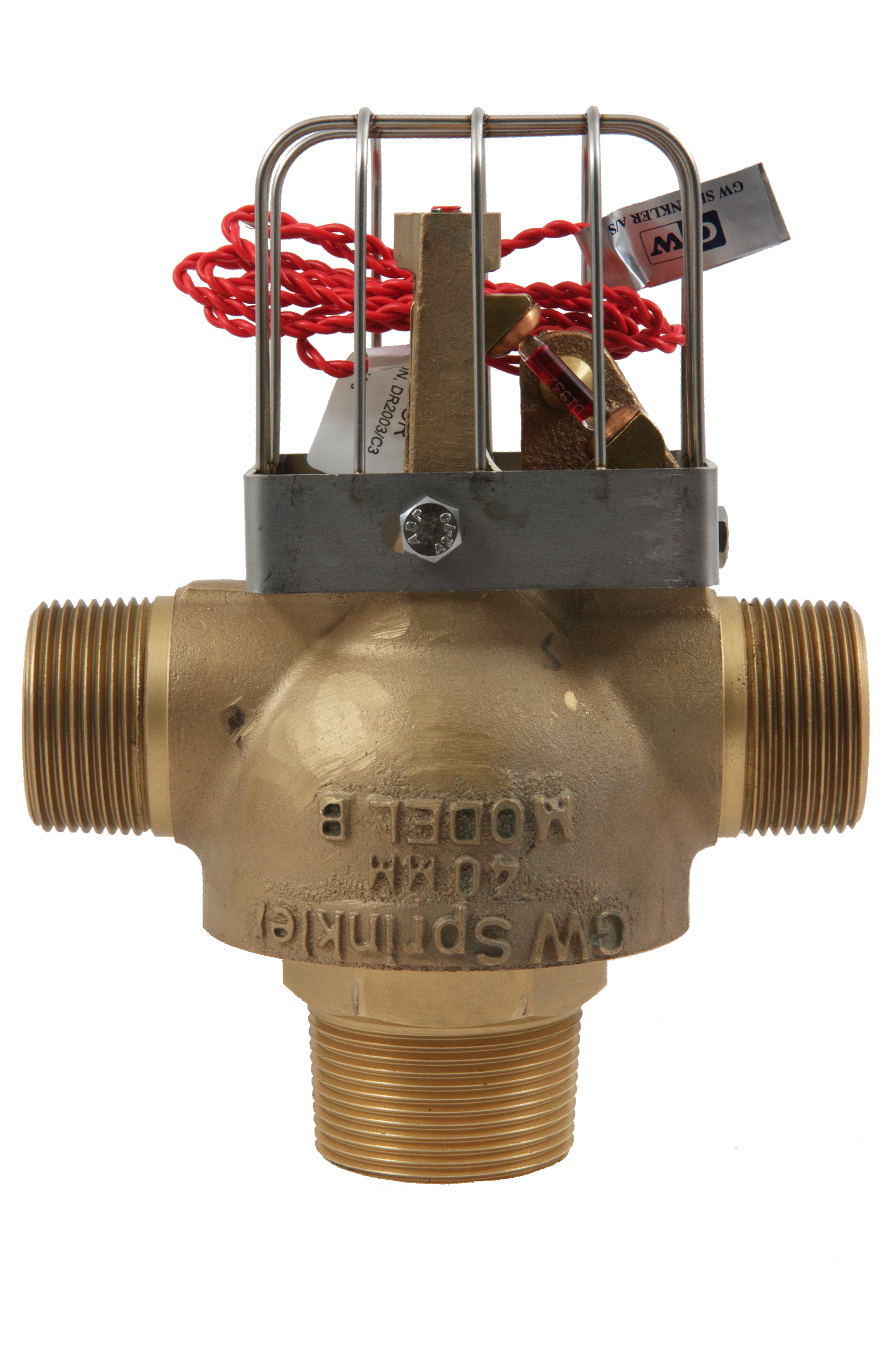 MJC 80mm - Heat & Electrically Activated Standard Bulb, Double Outlet